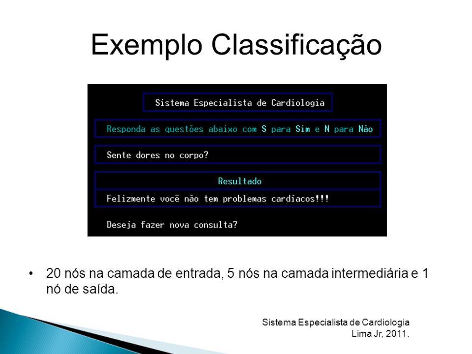 Exemplo Classificação
