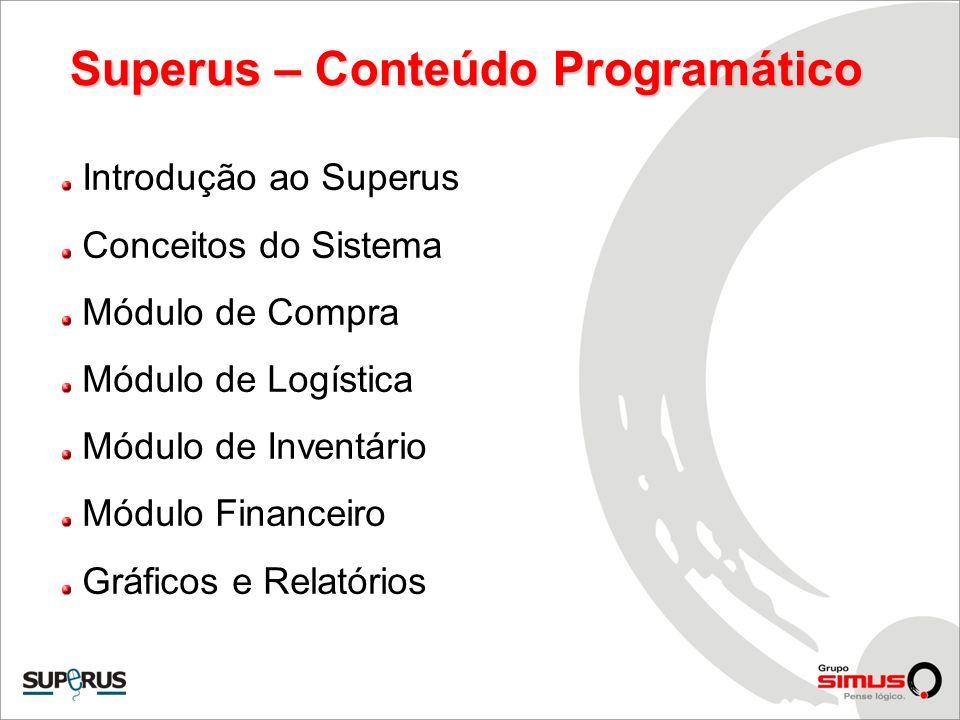 Superus – Conteúdo Programático