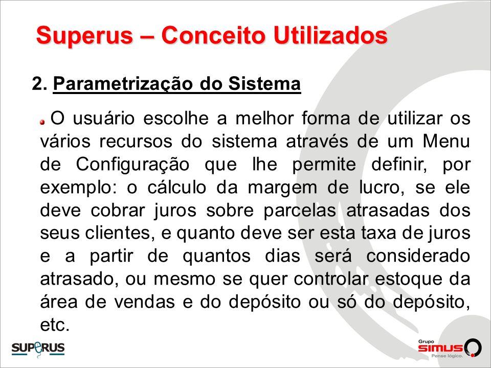Superus – Conceito Utilizados