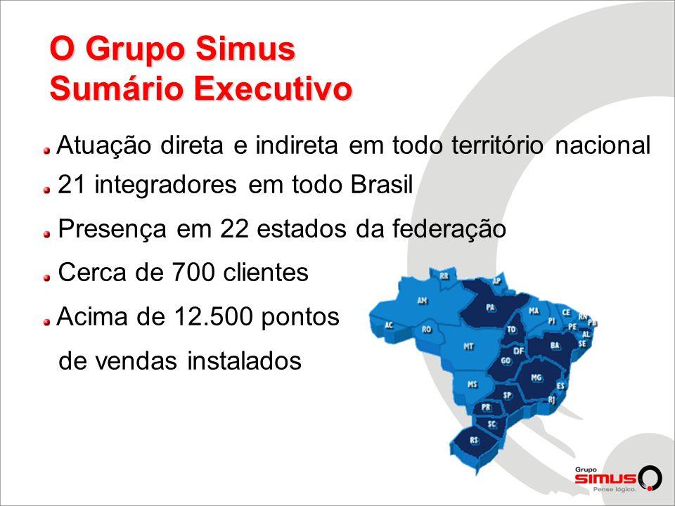 O Grupo Simus Sumário Executivo