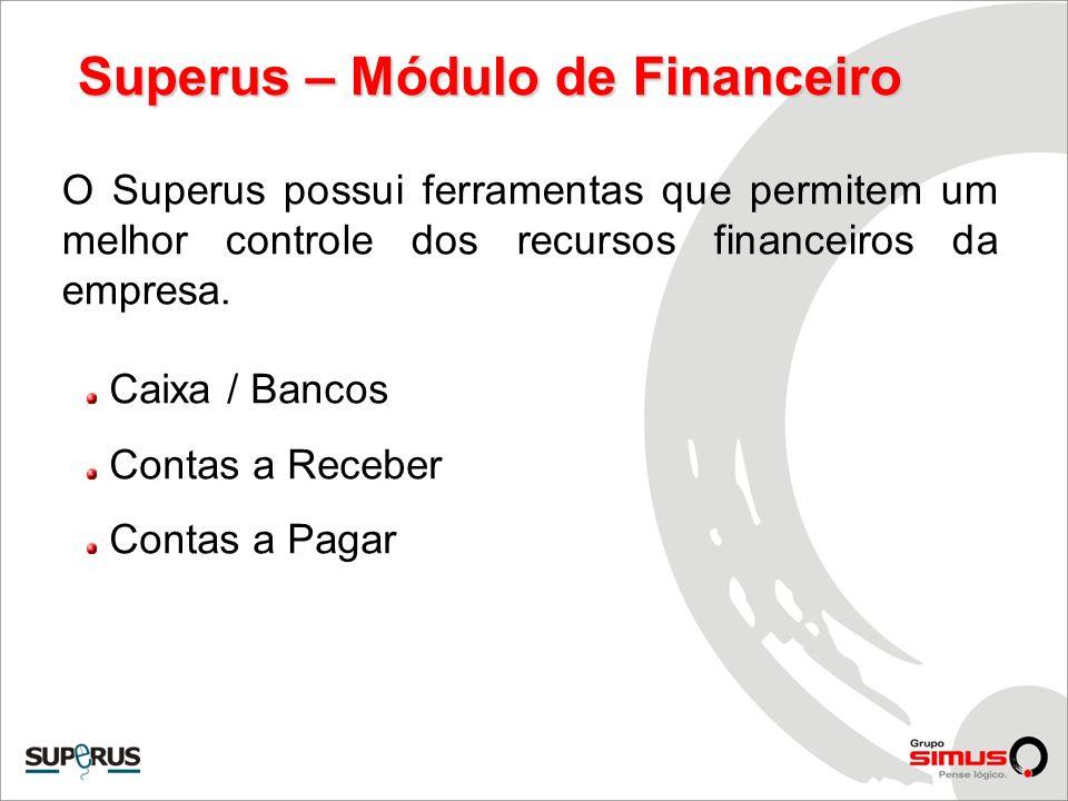 Superus – Módulo de Financeiro
