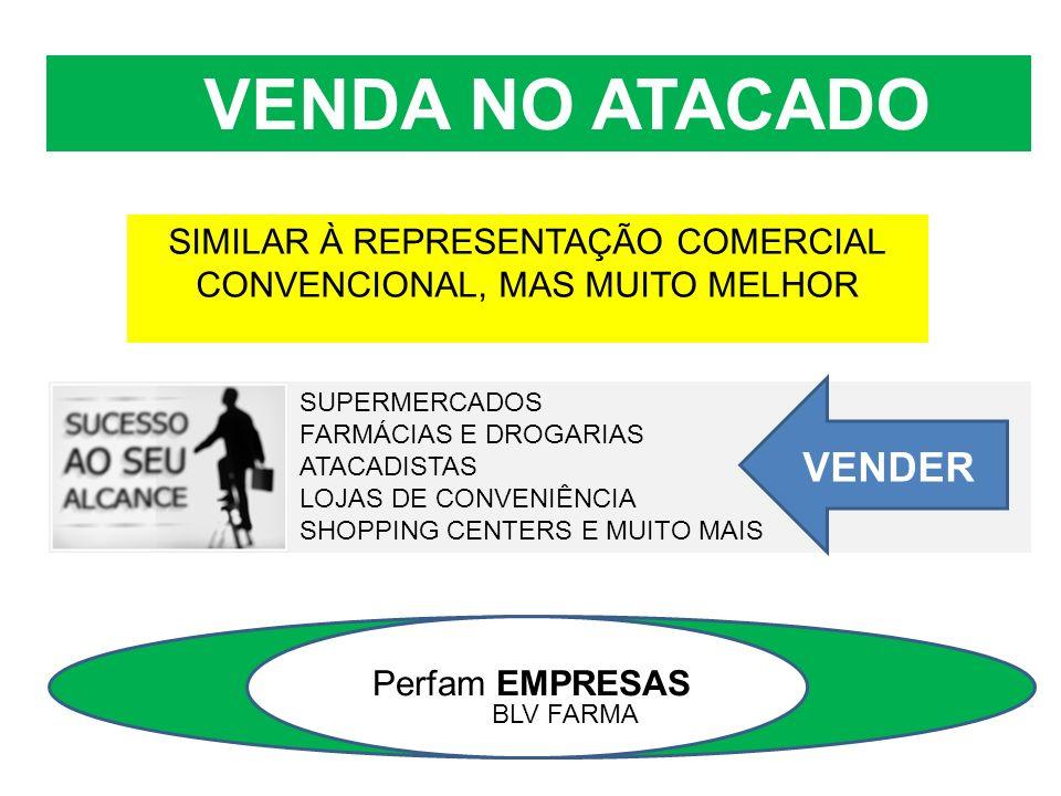 SIMILAR À REPRESENTAÇÃO COMERCIAL CONVENCIONAL, MAS MUITO MELHOR