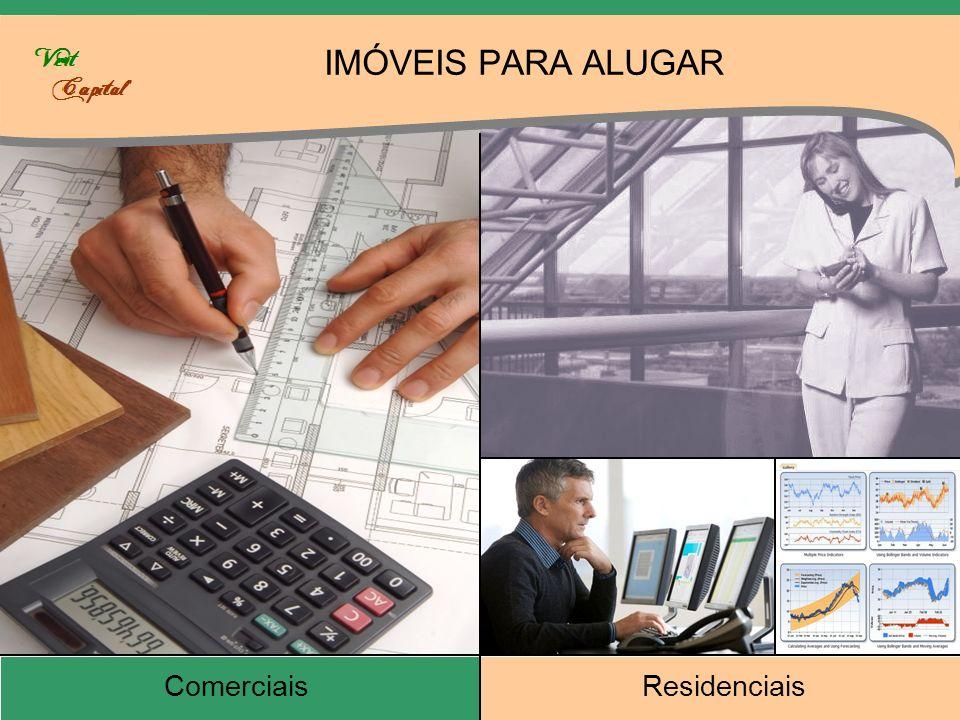 IMÓVEIS PARA ALUGAR Comerciais Residenciais