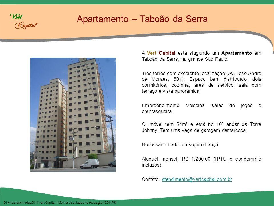 Apartamento – Taboão da Serra