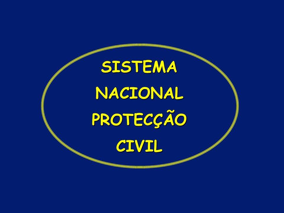 SISTEMA NACIONAL PROTECÇÃO CIVIL