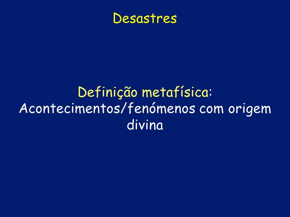 Definição metafísica: Acontecimentos/fenómenos com origem divina