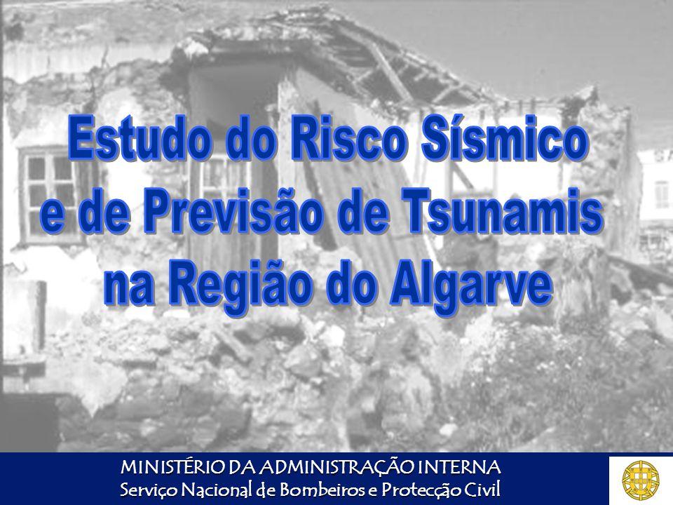 Estudo do Risco Sísmico e de Previsão de Tsunamis