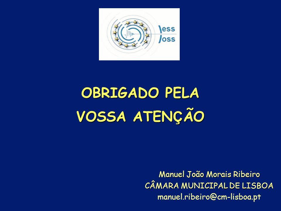OBRIGADO PELA VOSSA ATENÇÃO Manuel João Morais Ribeiro