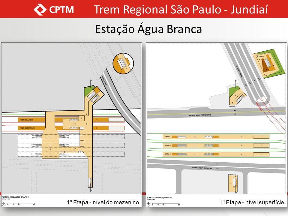 Trem Regional São Paulo - Jundiaí