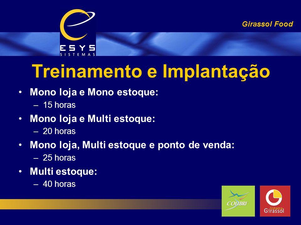 Treinamento e Implantação