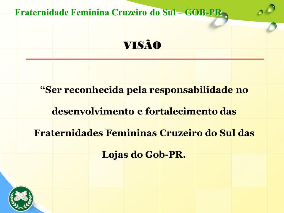 VISÃO Fraternidade Feminina Cruzeiro do Sul – GOB-PR