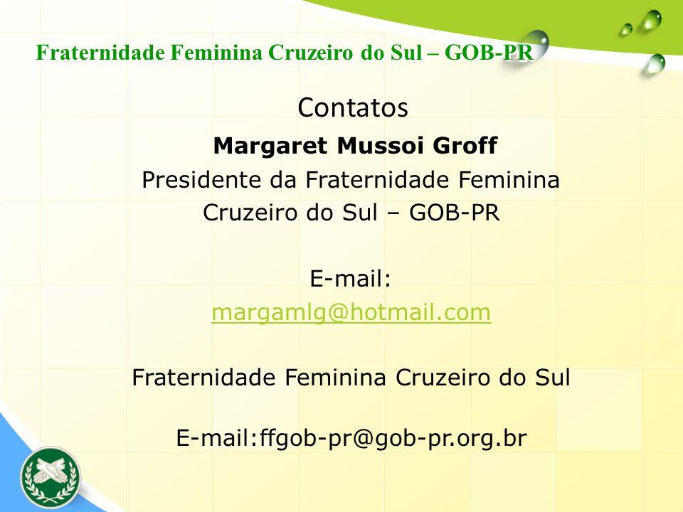 Contatos Fraternidade Feminina Cruzeiro do Sul – GOB-PR
