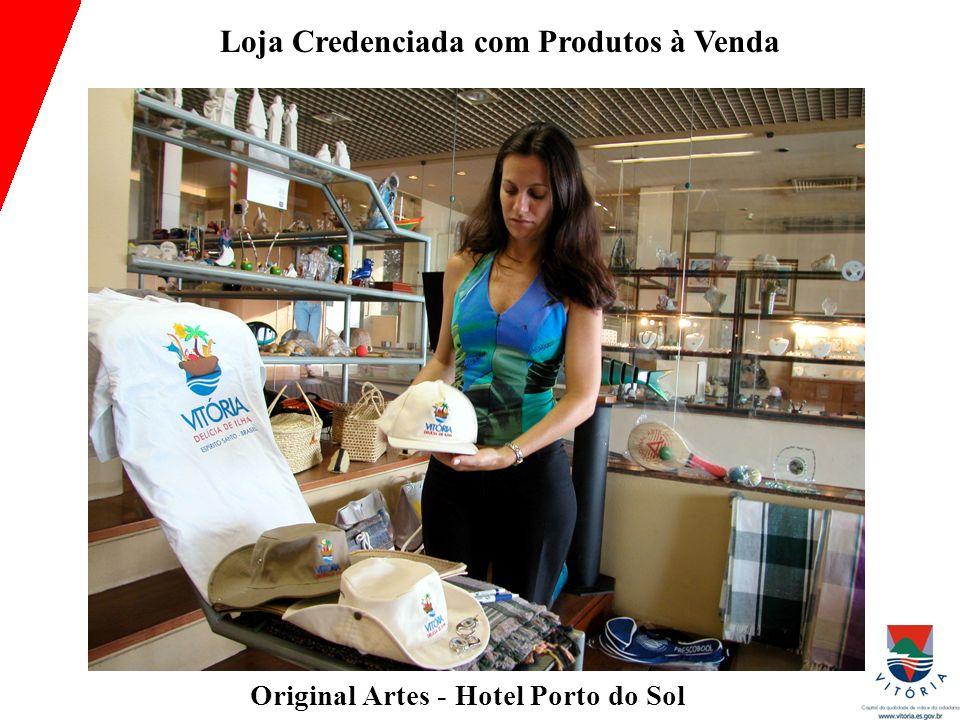 Loja Credenciada com Produtos à Venda