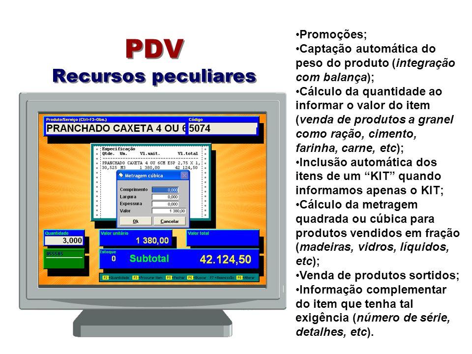 PDV Recursos peculiares