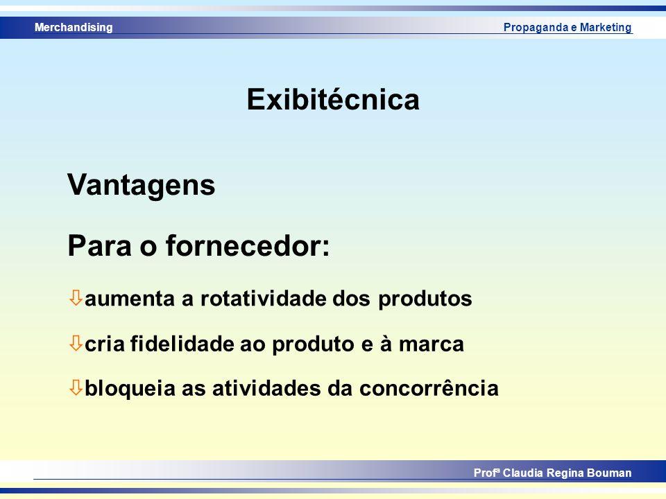 Exibitécnica Vantagens Para o fornecedor:
