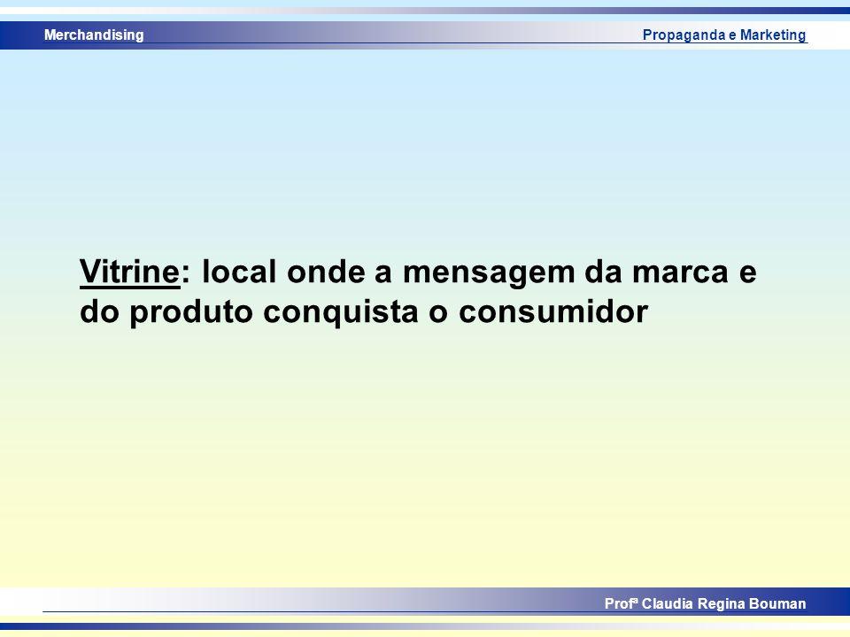 Vitrine: local onde a mensagem da marca e do produto conquista o consumidor