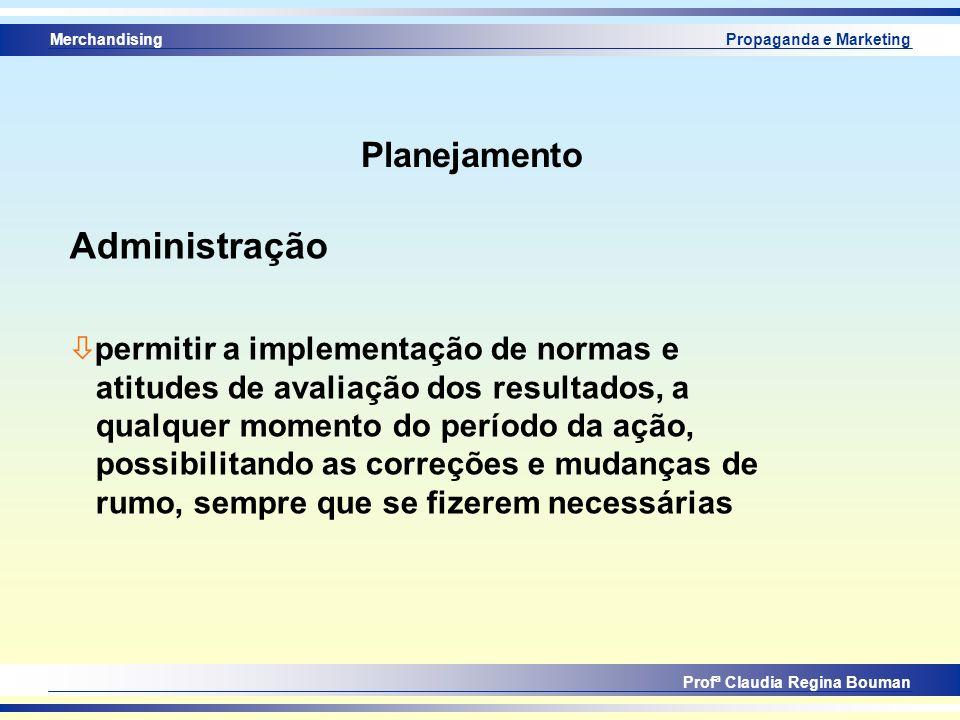 Administração Planejamento permitir a implementação de normas e