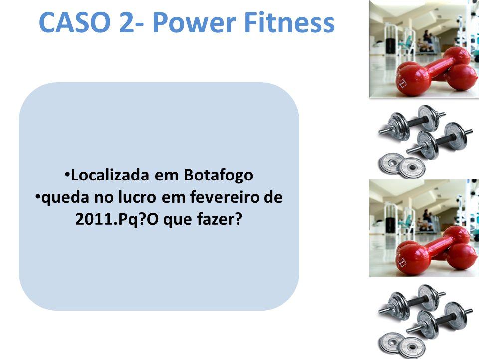 CASO 2- Power Fitness Localizada em Botafogo