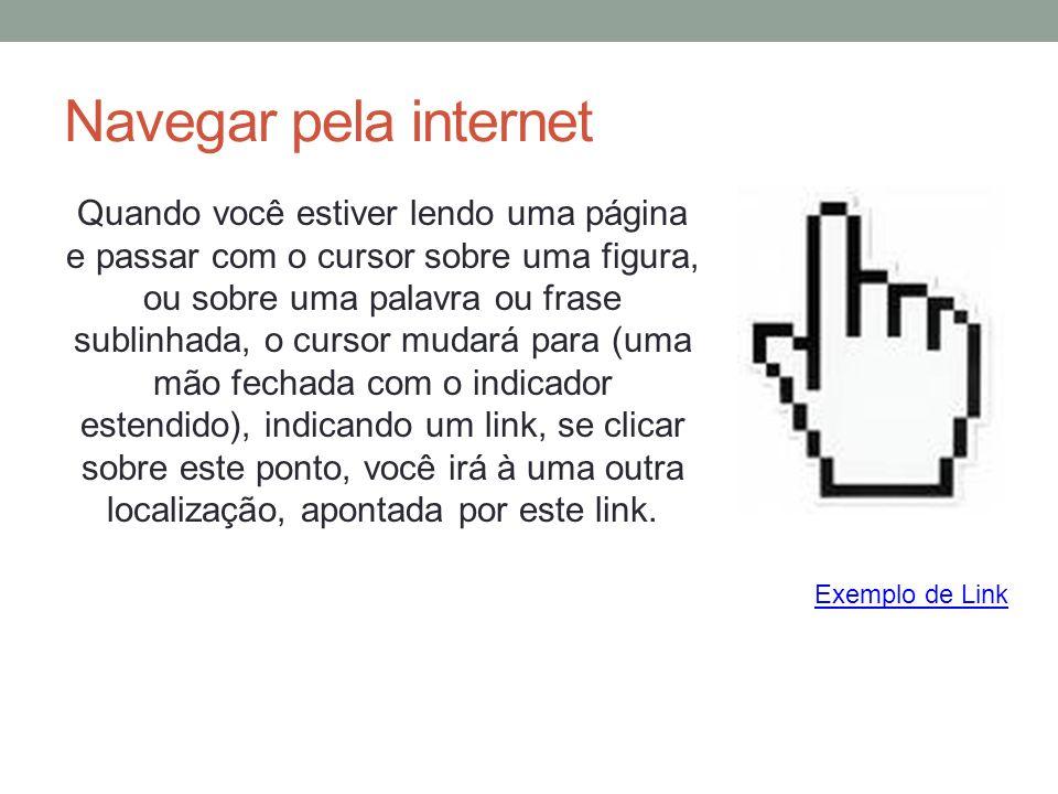 Navegar pela internet