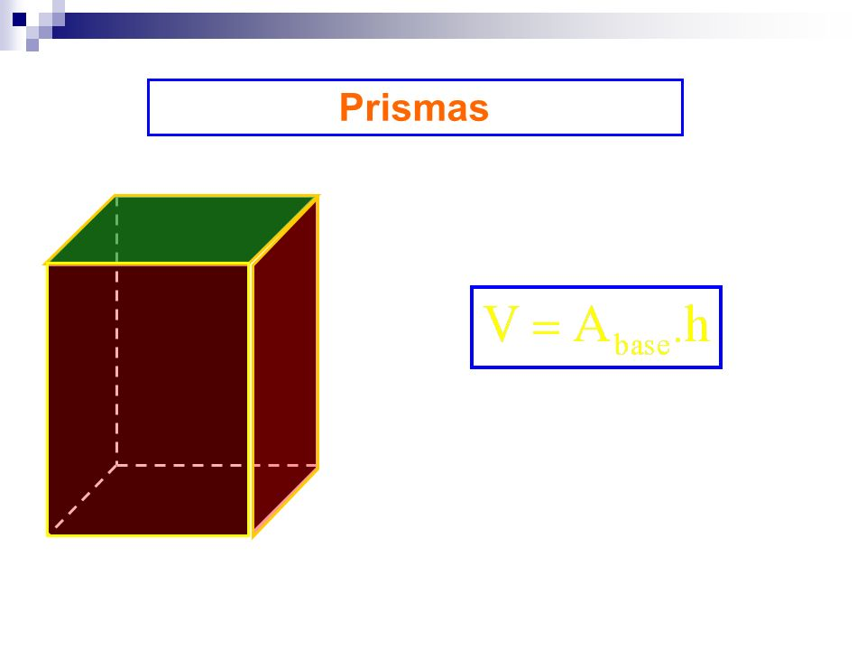 Prismas Volume
