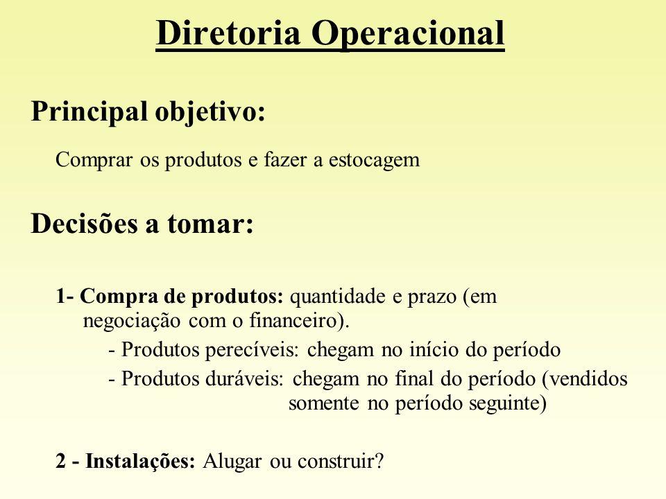Diretoria Operacional