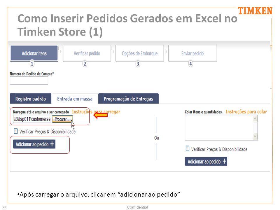 Como Inserir Pedidos Gerados em Excel no Timken Store (1)