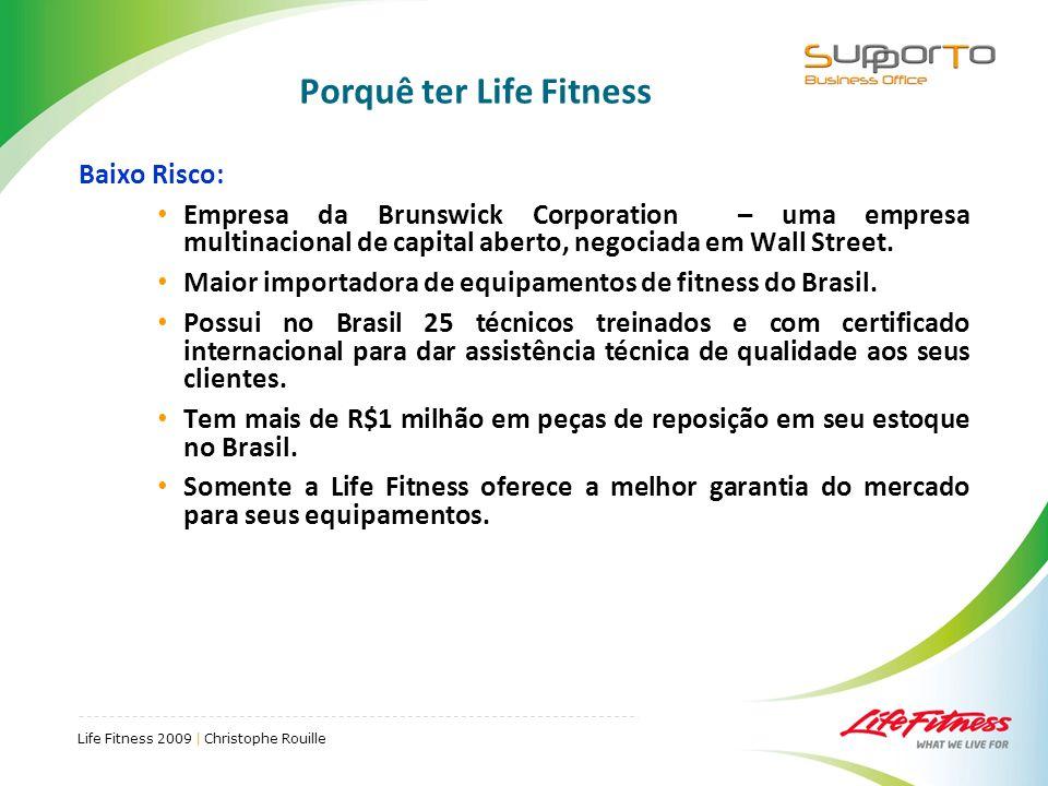 Porquê ter Life Fitness