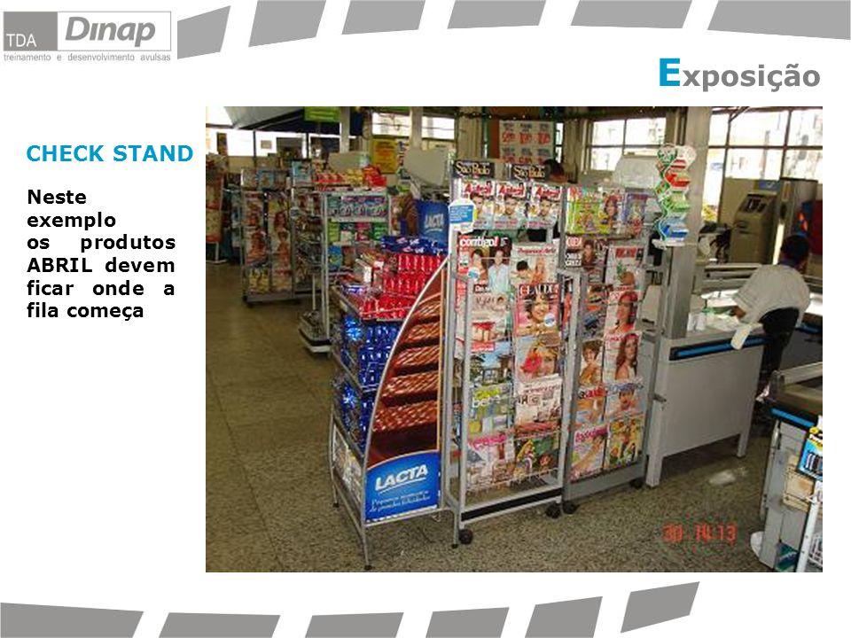 Exposição Abril CHECK STAND