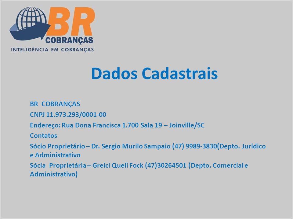 Dados Cadastrais BR COBRANÇAS CNPJ 11.973.293/0001-00