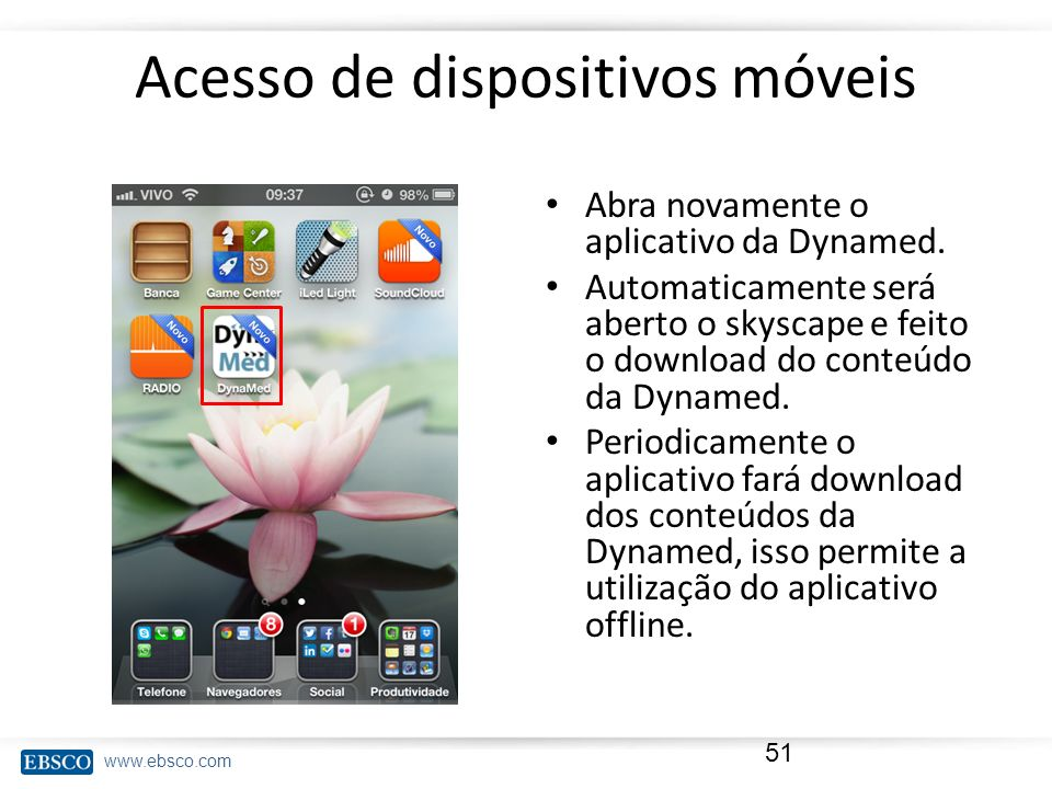 Acesso de dispositivos móveis