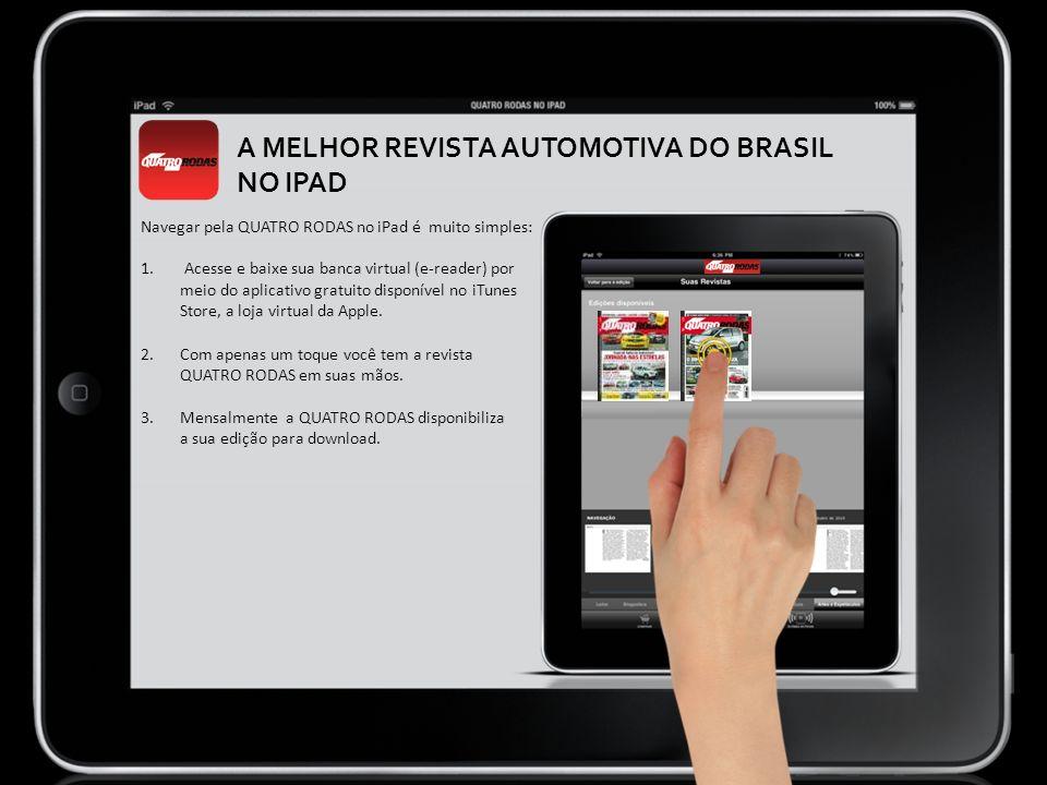 A MELHOR REVISTA AUTOMOTIVA DO BRASIL NO IPAD