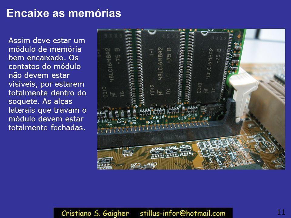 Encaixe as memórias