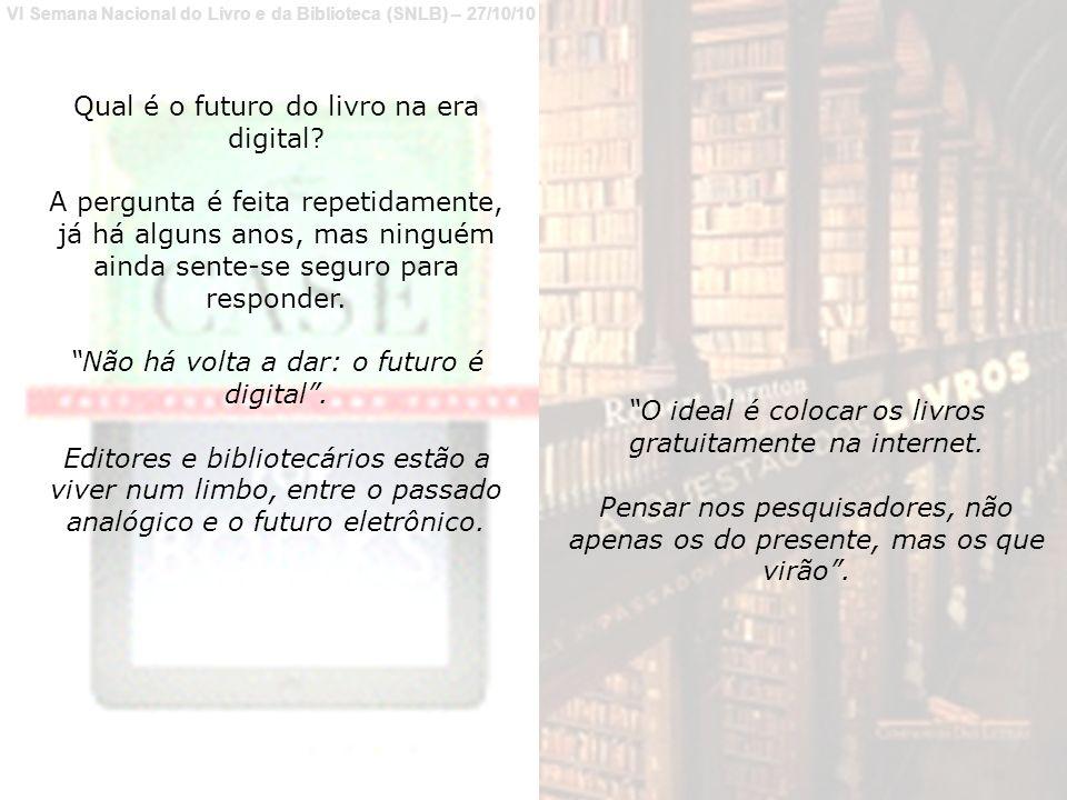 Qual é o futuro do livro na era digital