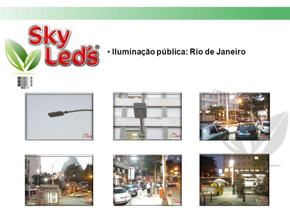 Iluminação pública: Rio de Janeiro