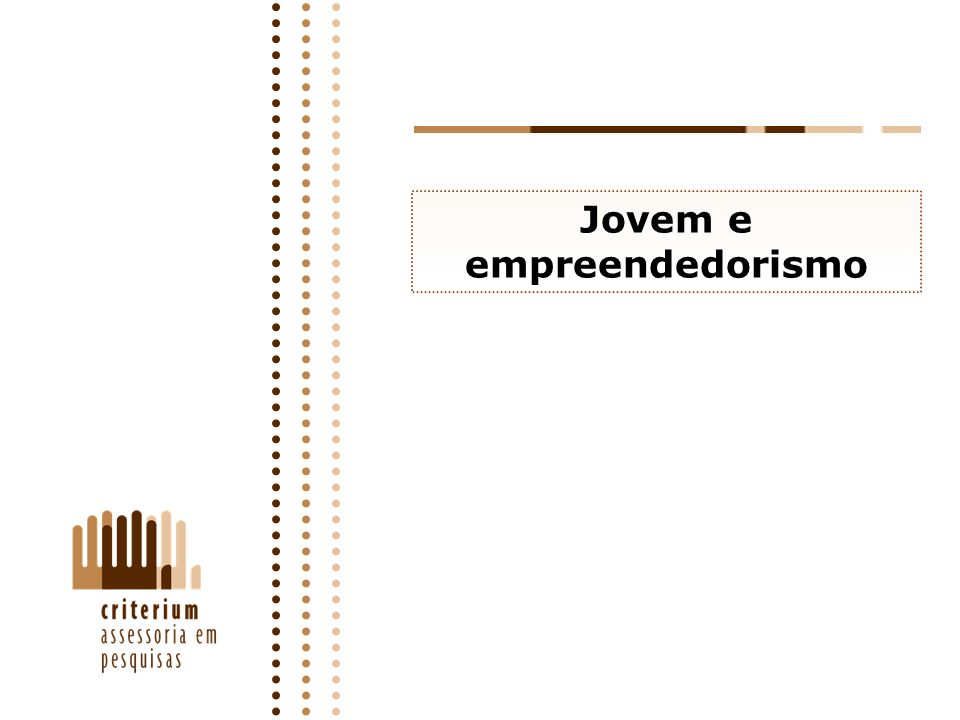 Jovem e empreendedorismo
