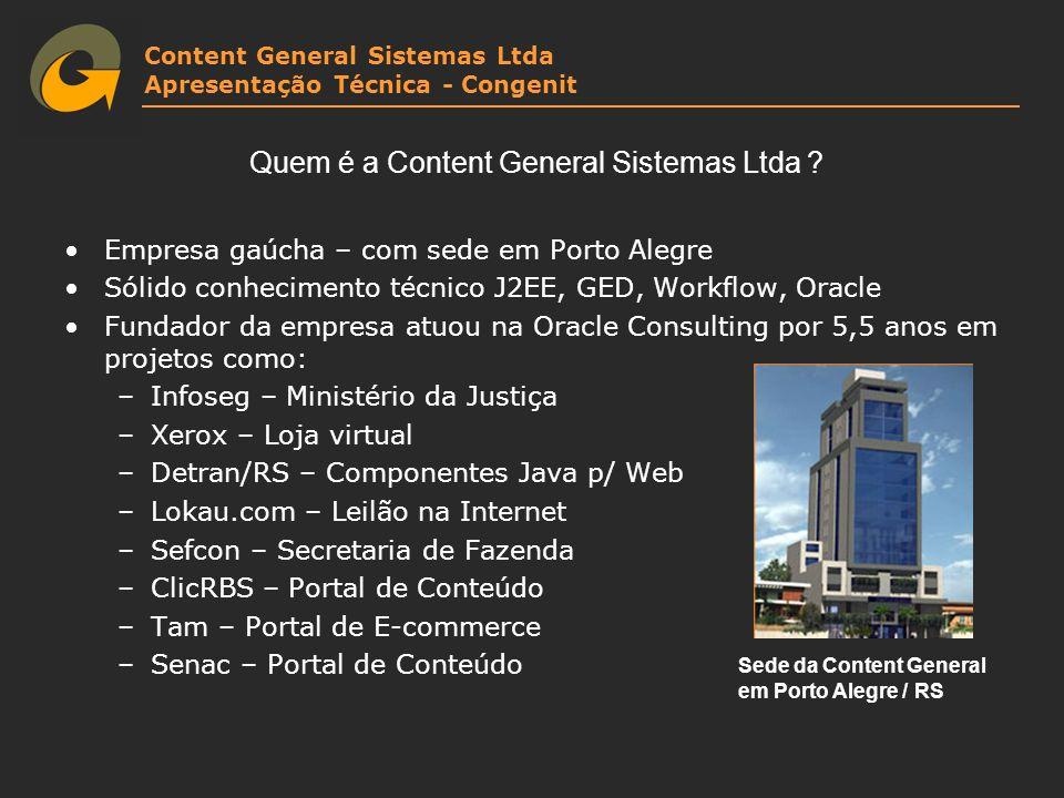 Quem é a Content General Sistemas Ltda