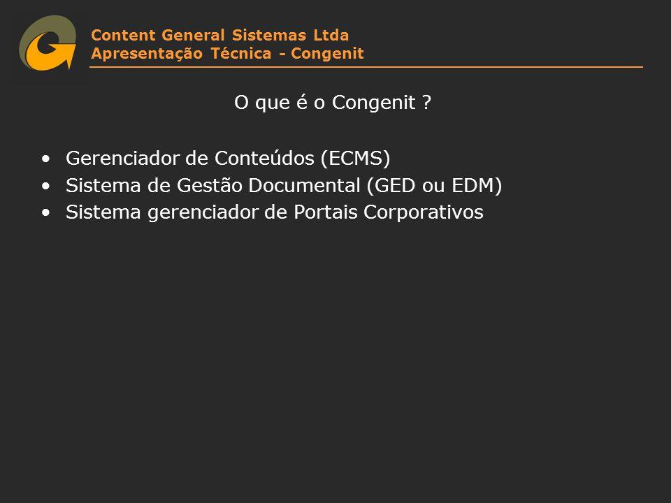 Gerenciador de Conteúdos (ECMS)