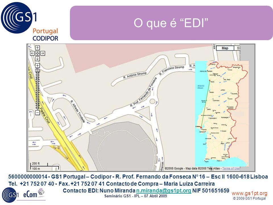 SEMINÁRIO GS1 Instituto Politécnico de Leiria