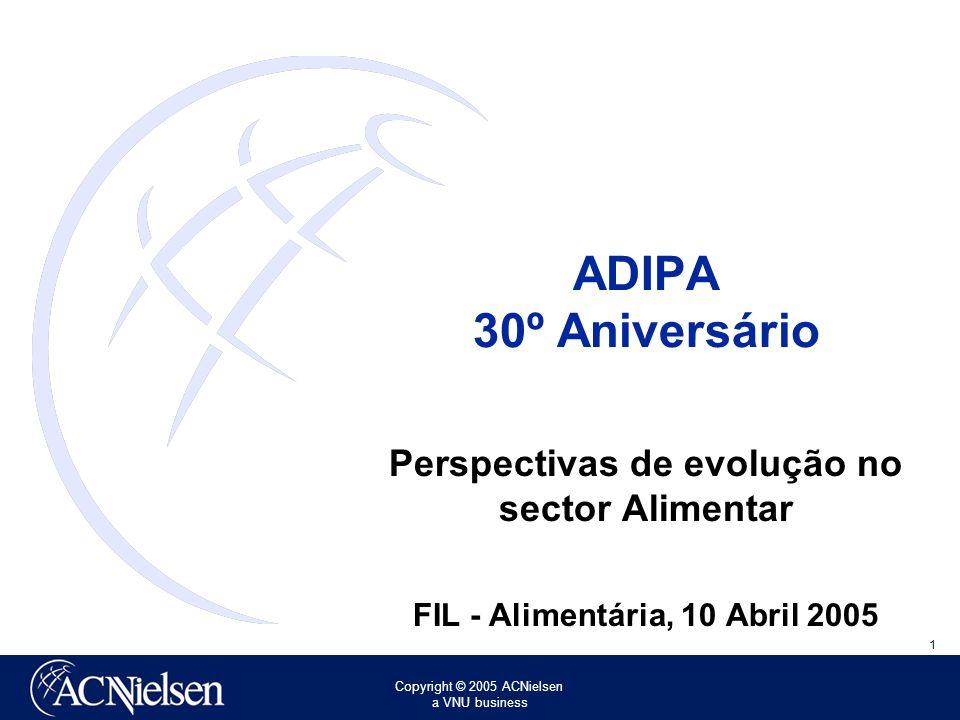 ADIPA 30º Aniversário Perspectivas de evolução no sector Alimentar