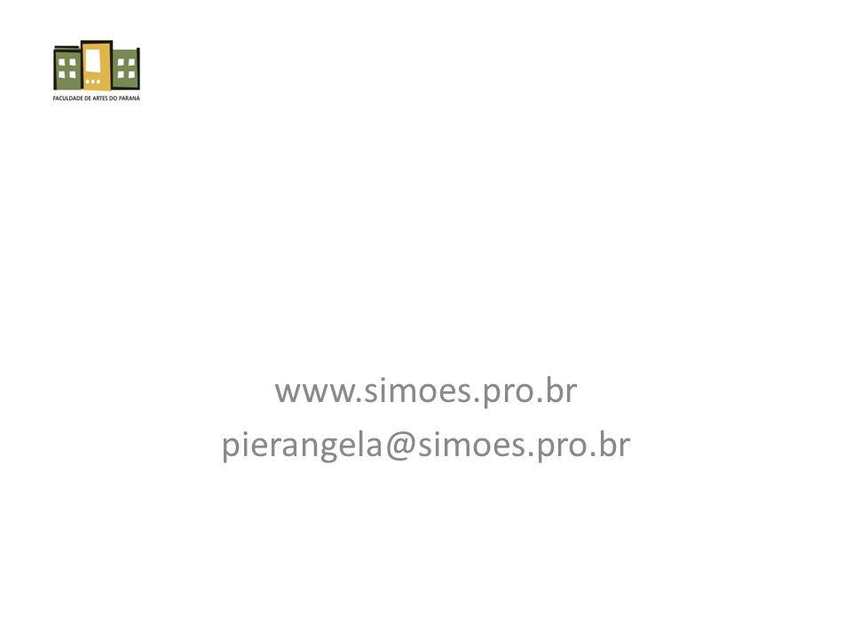 www.simoes.pro.br pierangela@simoes.pro.br