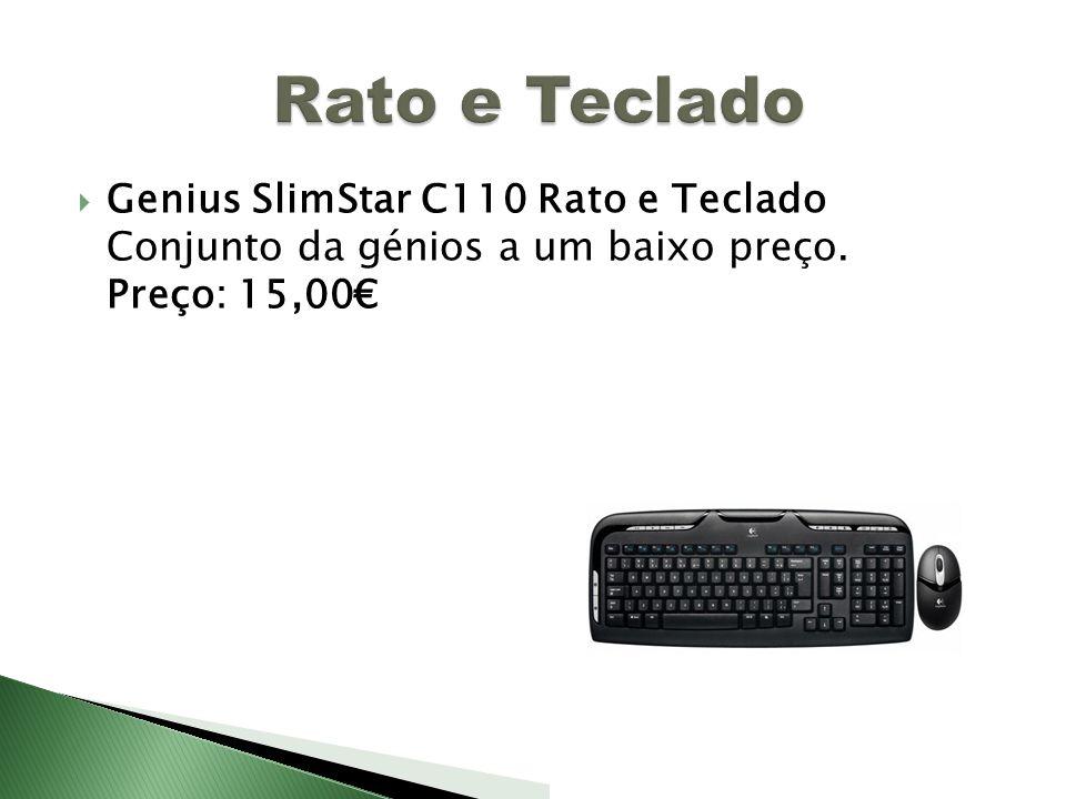 Rato e Teclado Genius SlimStar C110 Rato e Teclado Conjunto da génios a um baixo preço.
