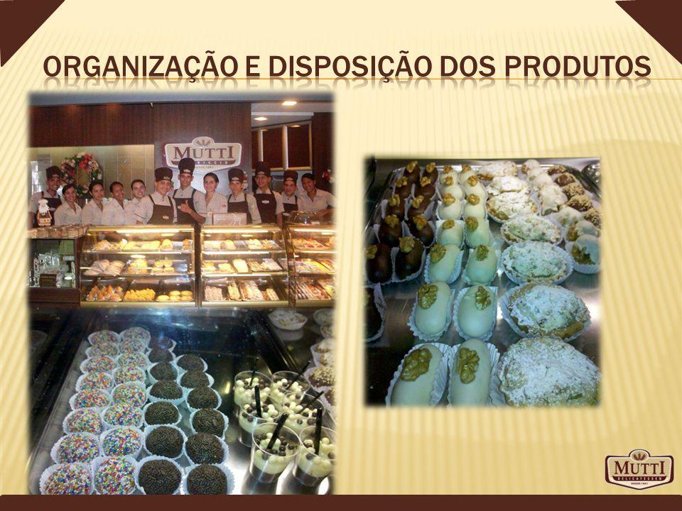 Organização e disposição dos produtos