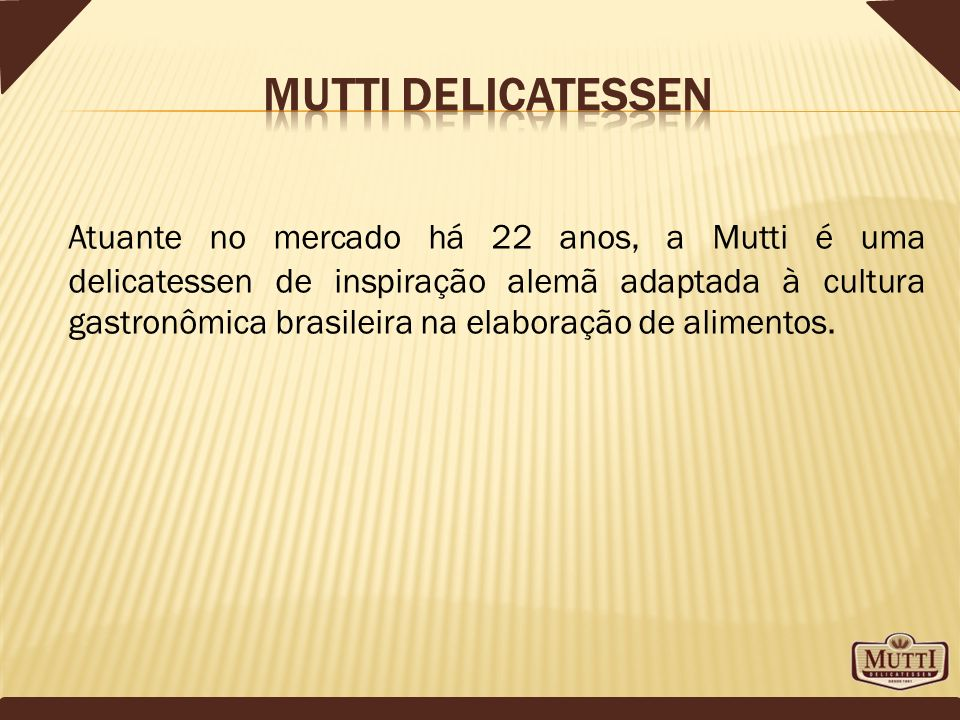 Mutti delicatessen