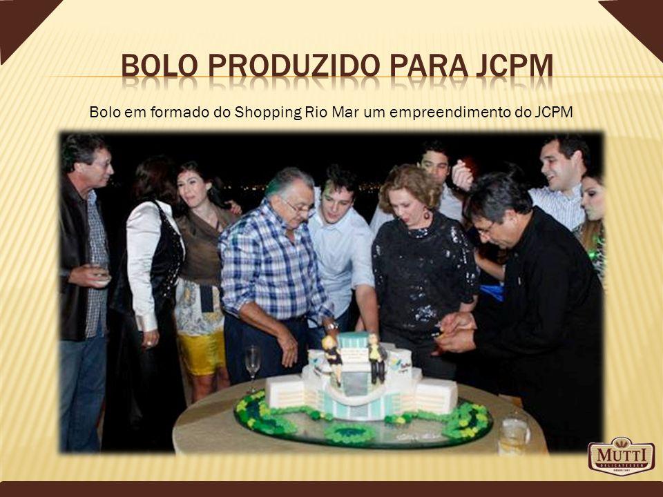 Bolo produzido para JCPM