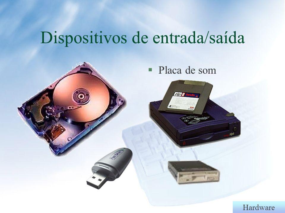 Dispositivos de entrada/saída