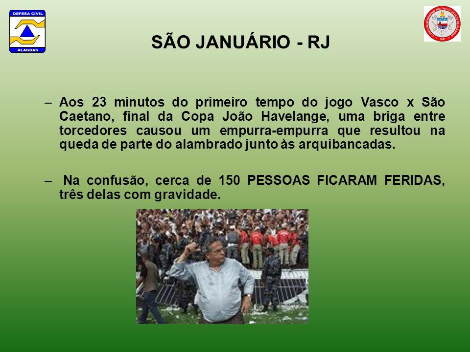 SÃO JANUÁRIO - RJ