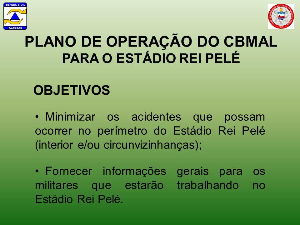 PLANO DE OPERAÇÃO DO CBMAL