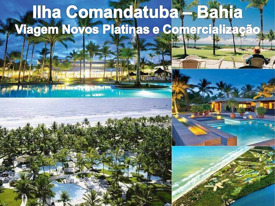 Ilha Comandatuba – Bahia Viagem Novos Platinas e Comercialização