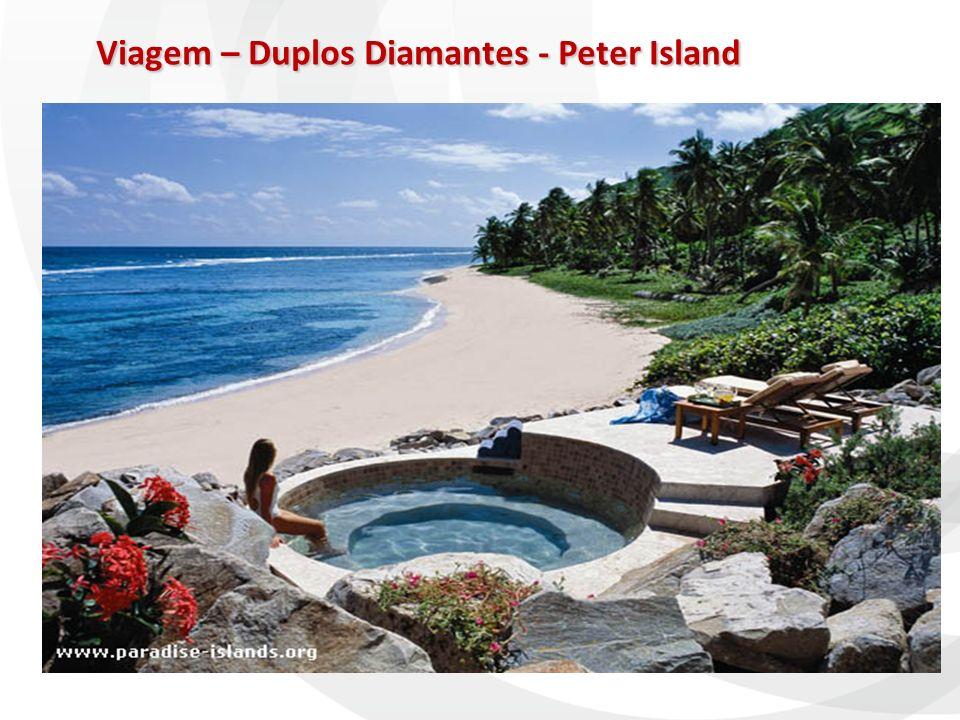 Viagem – Duplos Diamantes - Peter Island