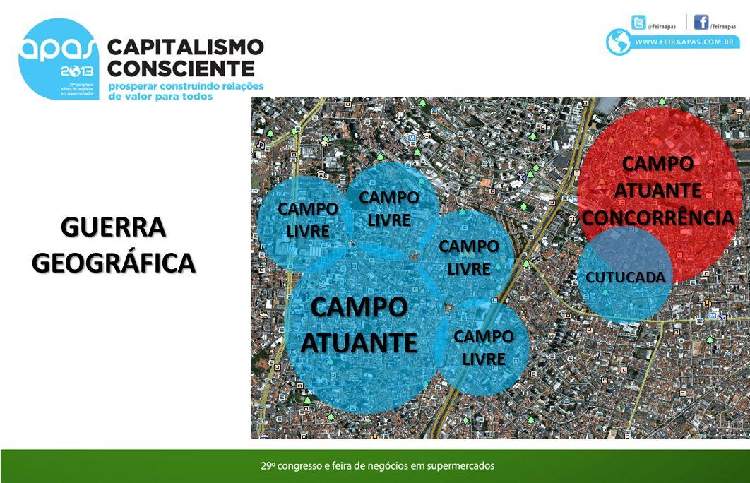 GUERRA GEOGRÁFICA CAMPO ATUANTE